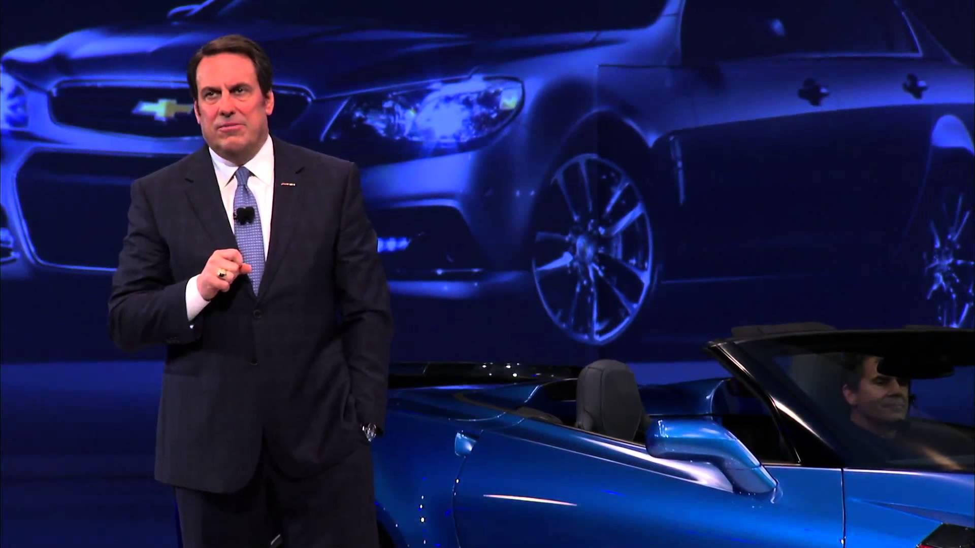 New York International Auto Show 2015 Chevrolet Corvette Z06 Convertible