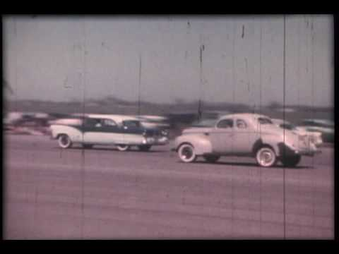 Noland Adams – Corvette Drag Races – 1956