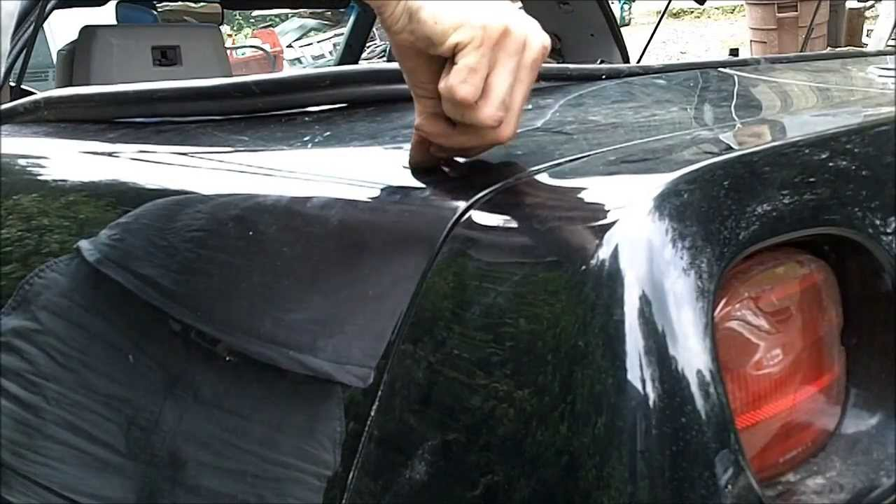 POWER ANTENNA INSTALLATION – C4 CORVETTE