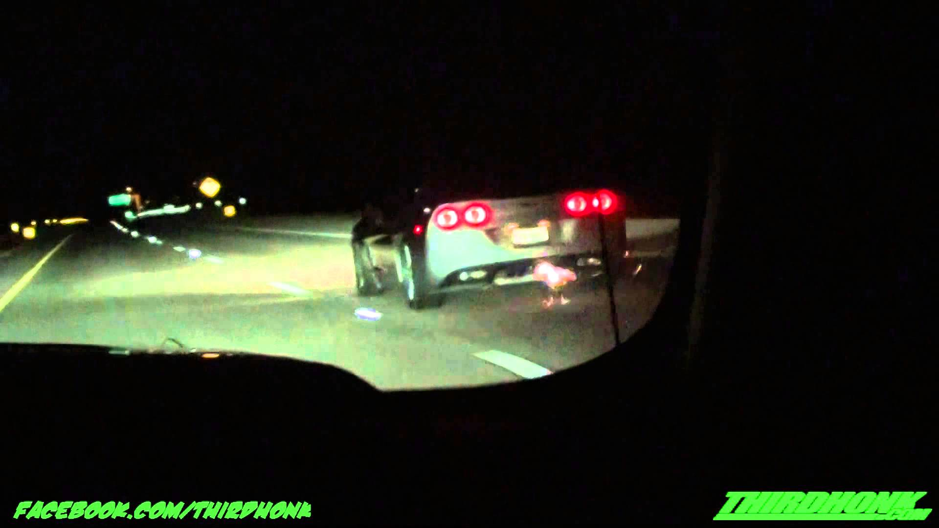 Procharged Corvette Blows Up Racing A GT500