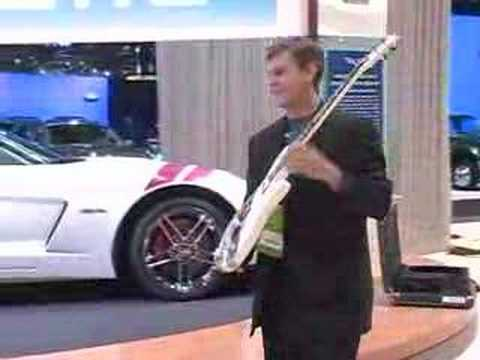 Ron Fellows Received Limited Edition Corvette Z06 Guitar