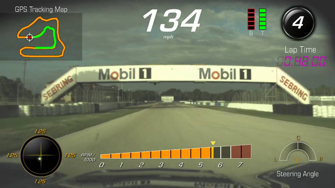 Sebring Raceway: Performance Data Recorder — C7 | Chevrolet