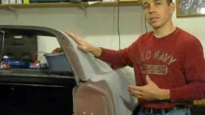 Separating Bonded Fiberglass Panels on a Classic Corvette