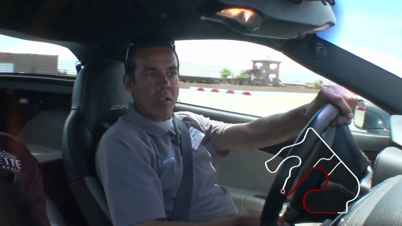 Spring Mountain Motorsports Ranch Corvette ZR1 Driving School 4 'A Lap with a Pro'