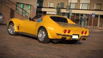 STUNNING 1973 Corvette Stingray Resto Mod – V8 sound and overview