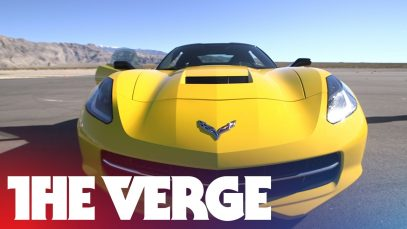Test-driving the 2015 Corvette's Performance Data Recorder