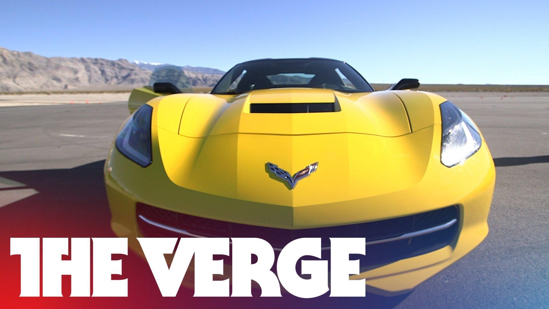 Test-driving the 2015 Corvette's Performance Data Recorder
