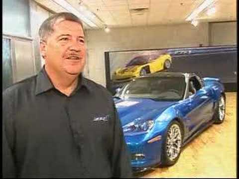Tom Wallace Discusses the 2009 Corvette ZR1