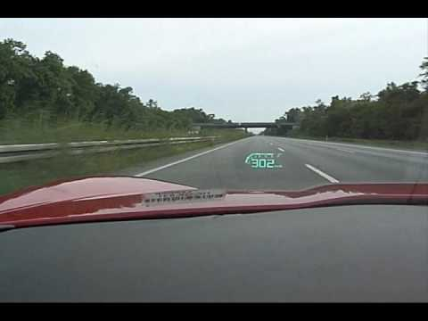 Top Speed attempt in a stock 2007 Corvette Z06