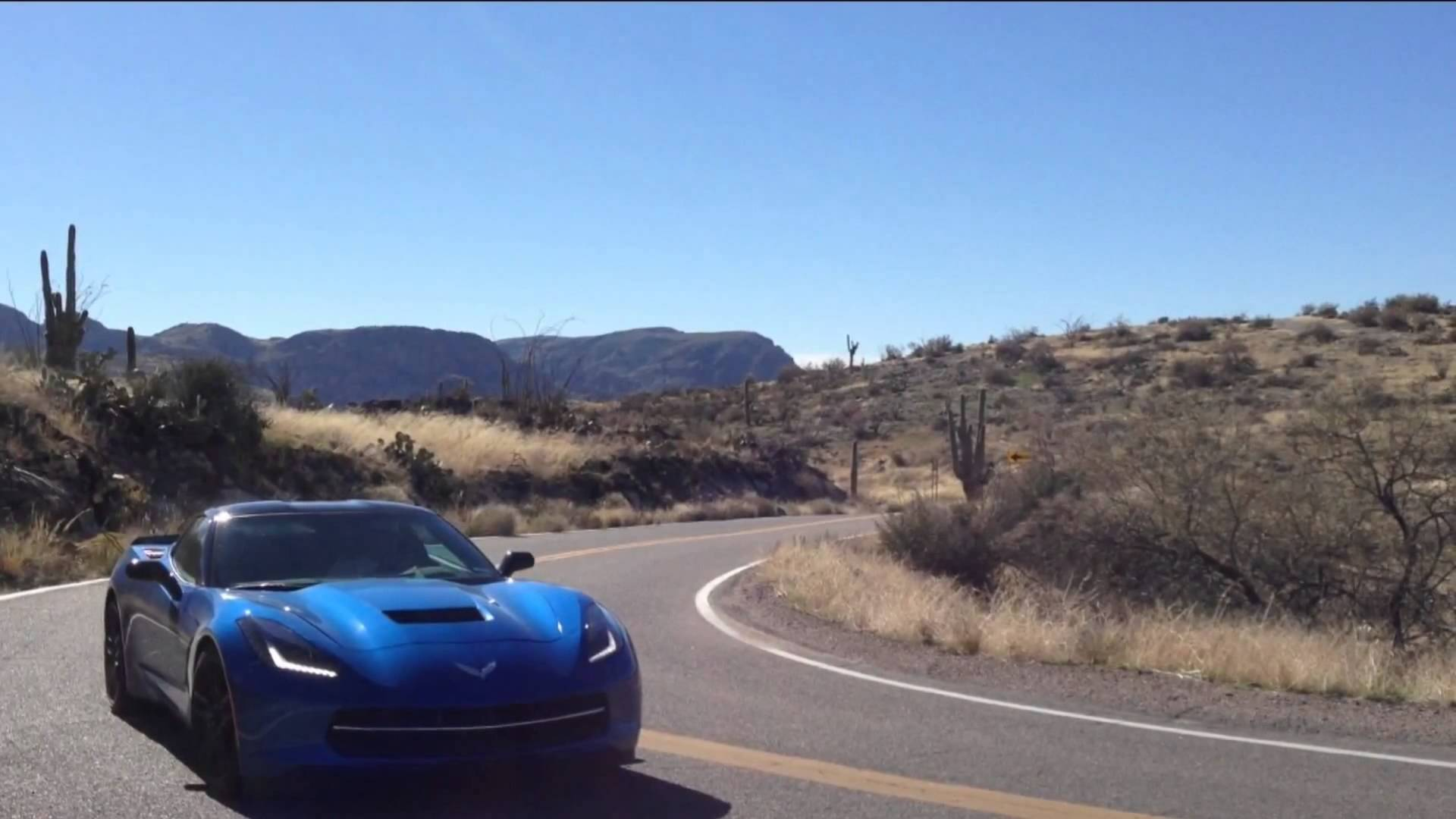 'Trailer'…2014 Corvette Stingray