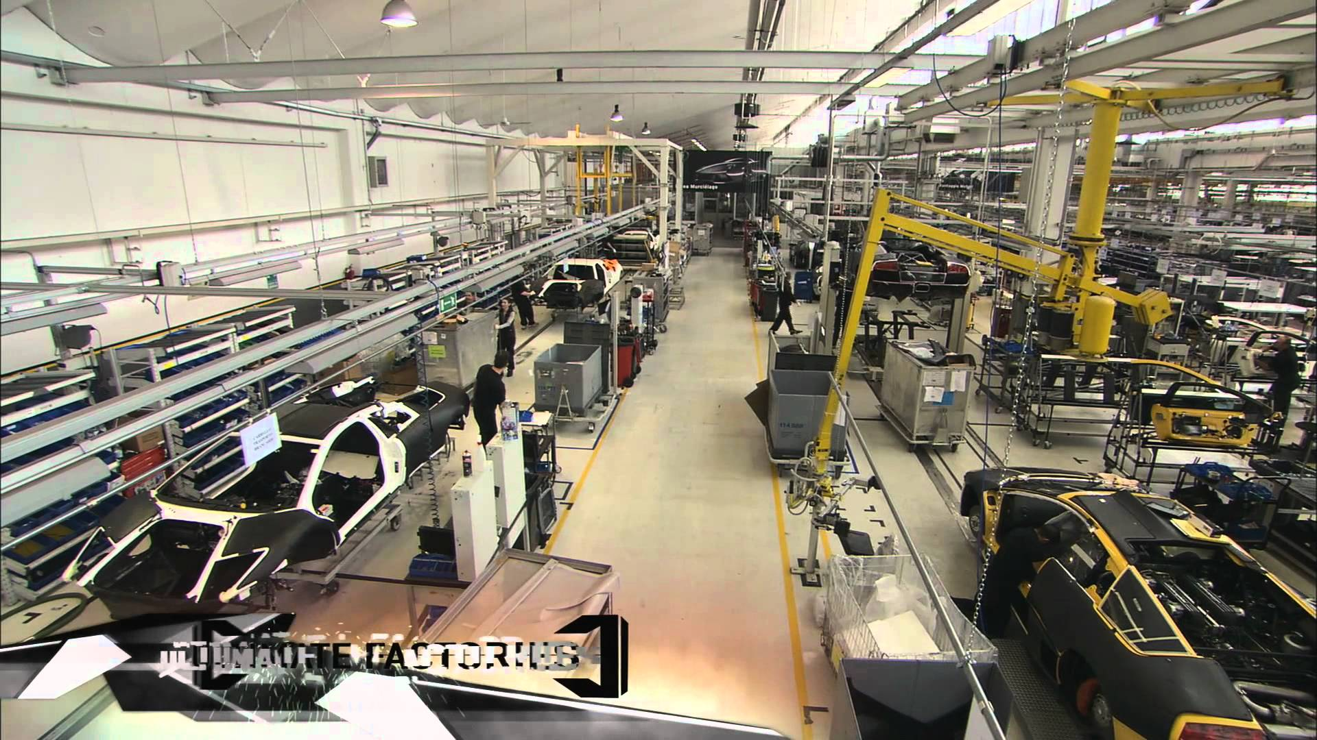 Ultimate Factories: Lamborghini by National Geographic