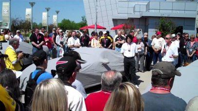 Unveiling of the 2012 Corvette