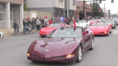 Vets 'n Vettes 2014 at the National Corvette Museum