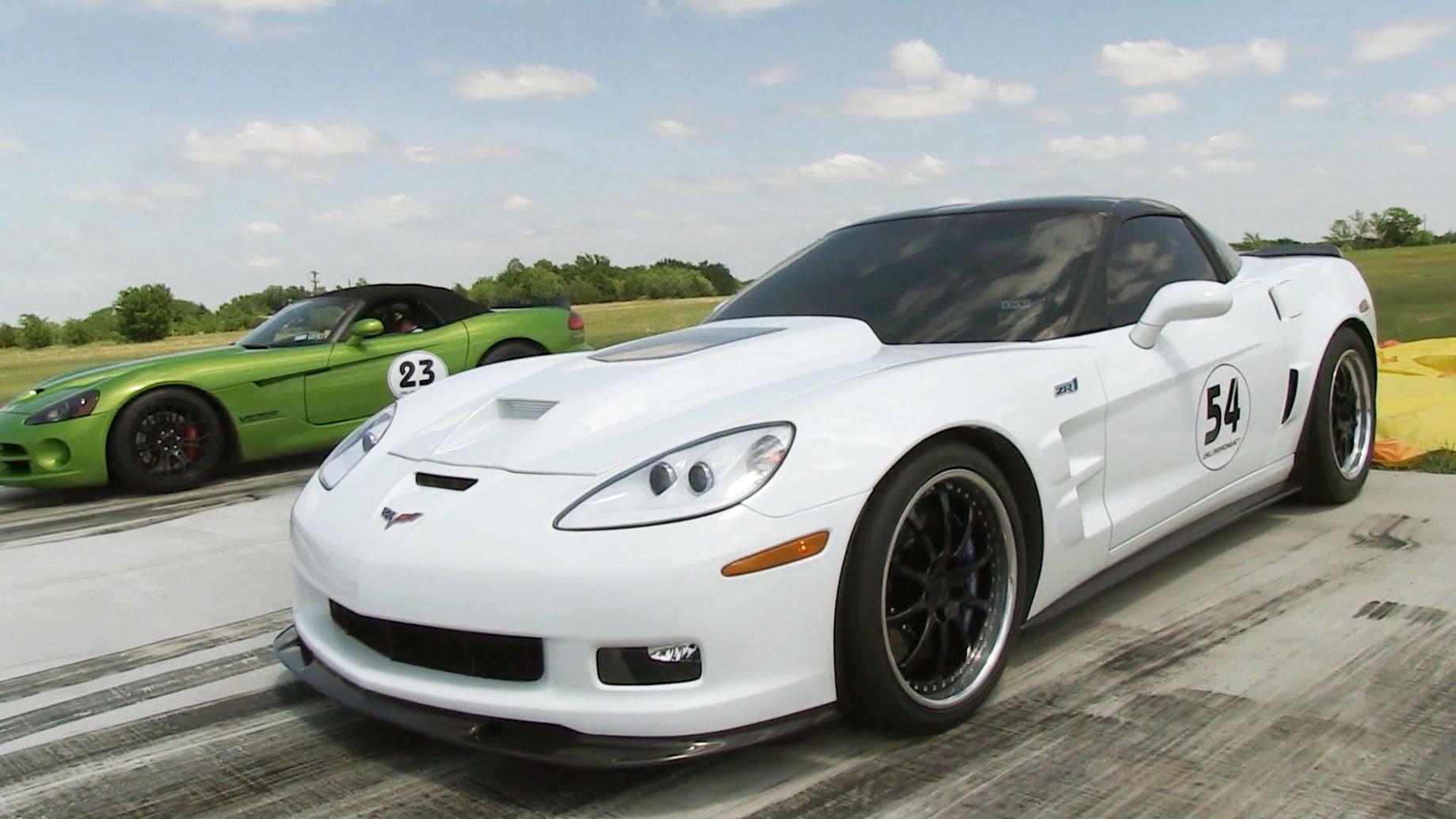 Watch A 1000 Horsepower Corvette ZR1 Embarrass Everything It Lines Up Against