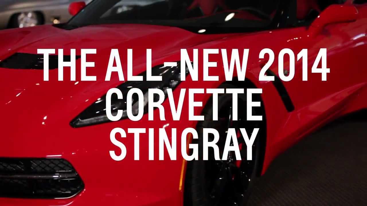 2014 Corvette C7 HD IN Detail Full Engine Start Commercial