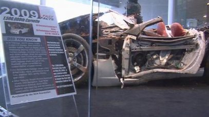 National Corvette Museum Prepping Sinkhole For Concrete