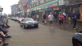 Ocean City MD Boardwalk Corvette Cruise