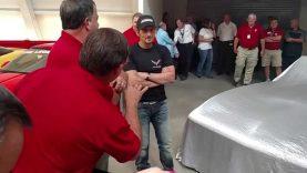 "Rick Hendrick's restored ""1st Corvette"" and Brad Paisley talks about his Z06"