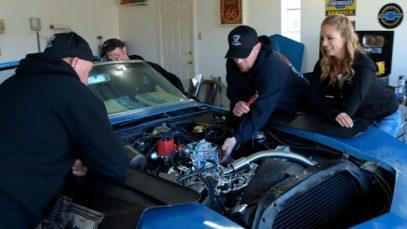 The Garage Squad – 1969 Corvette – Cutting it Close