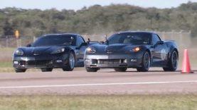 Nitrous Corvette Z06 vs ZR1