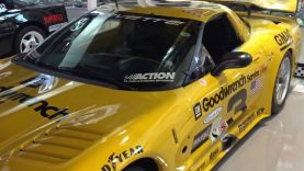 Tribute to Dale Earnhardt Sr. Showcasing the C5R Corvette that he raced at Daytona