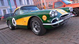 Wrapped C1 Chevrolet Corvette 383 Stroker – Fantastic V8 Sounds!
