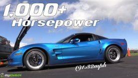 INSANE C6 Corvette ZR1 Takes LS9 Top Speed Record!
