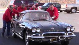 Corvette Museum Commemorates Sinkhole's Third Anniversary With 1962 Corvette Restoration