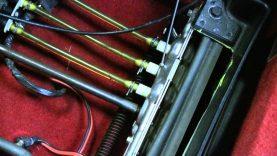 C4 Corvette Cutaway Seat Tracks