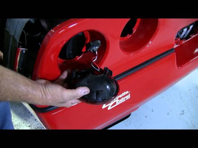 C4 Corvette Cutaway Tail light replace
