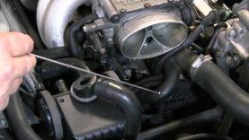 C4 Corvette Cutaway TB Block Off