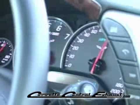 C6 Magnaflow Cat-Back Exhaust (Interior)