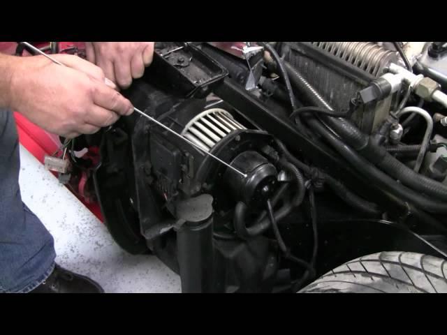 C4 Corvette Cutaway AC Blower Motor