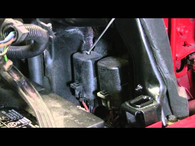 C4 Corvette Cutaway Air Flow Relays