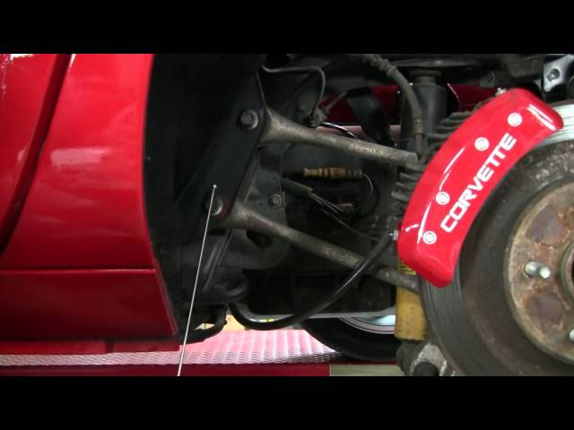 C4 Corvette Cutaway Spindle Rods