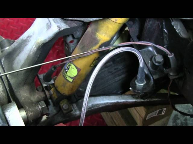C4 Corvette Cutaway Shocks