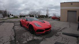 Lingenfelter Performance Engineering Tests 2019Corvette ZR1
