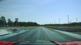 Stock 2019 Corvette ZR1 with Drag Radials Hits Richmond Dragway