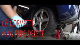 C6 Corvette Mag Ride Delete