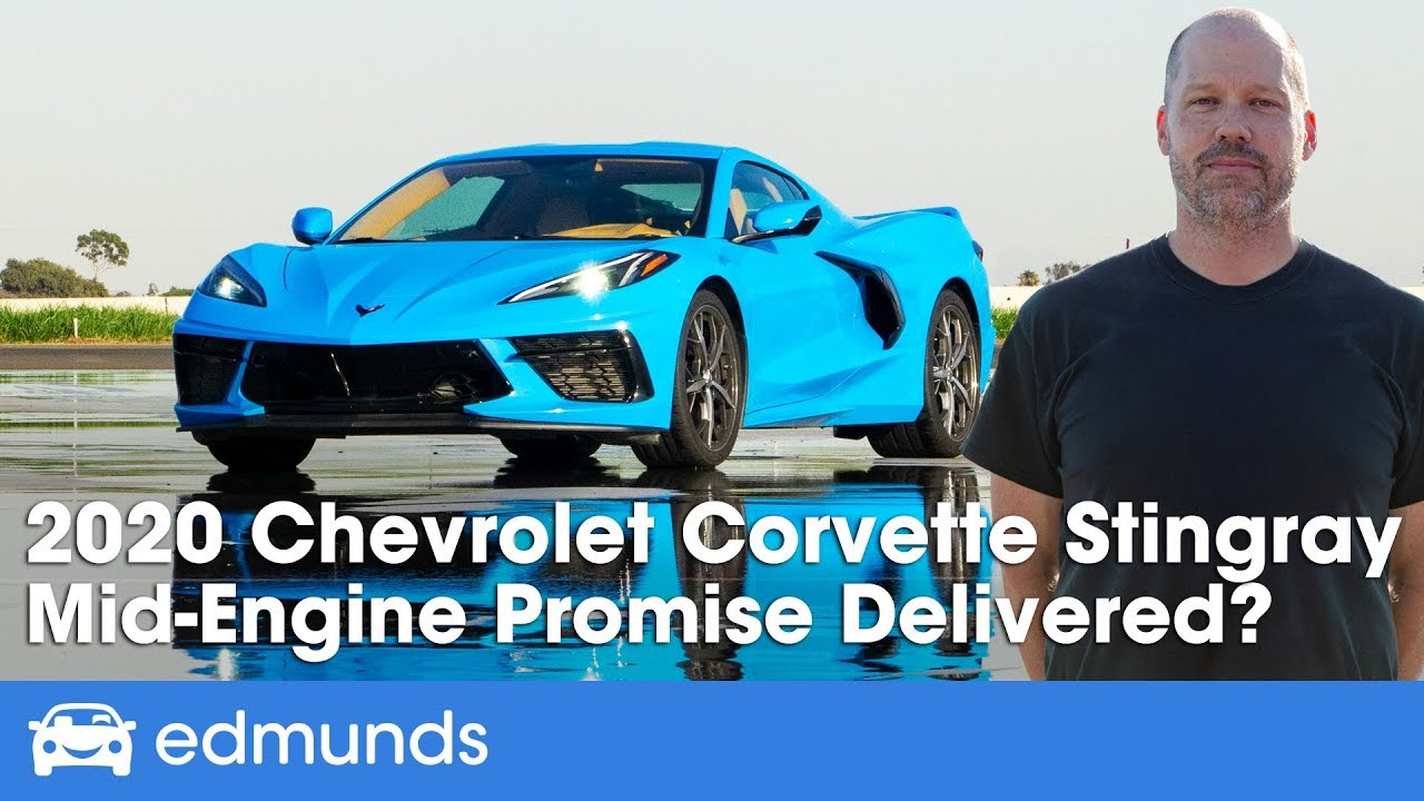 Edmunds Test Drives the new 2020 C8 Corvette – Full Review