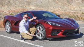 My First Drive in the NEW 2020 Corvette C8!
