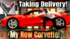2020 Chevy Corvette Owner Films Taking Delivery of His Corvette
