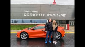 Father Daughter Road Trip in a 2020 Corvette