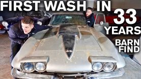 First Wash in 33 Years For This 1967 Corvette Stingray