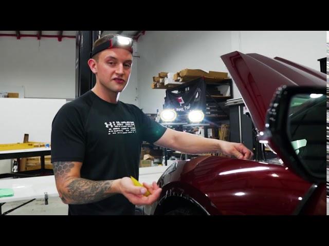 2020 Corvette C8 Receives Full Body Xpel PPF and Ceramic Pro