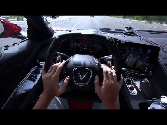 2020 Corvette C8 1LT Z51 : Test Drive in First Person POV!